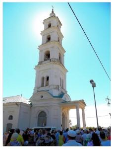 Колокольня спасского собора!